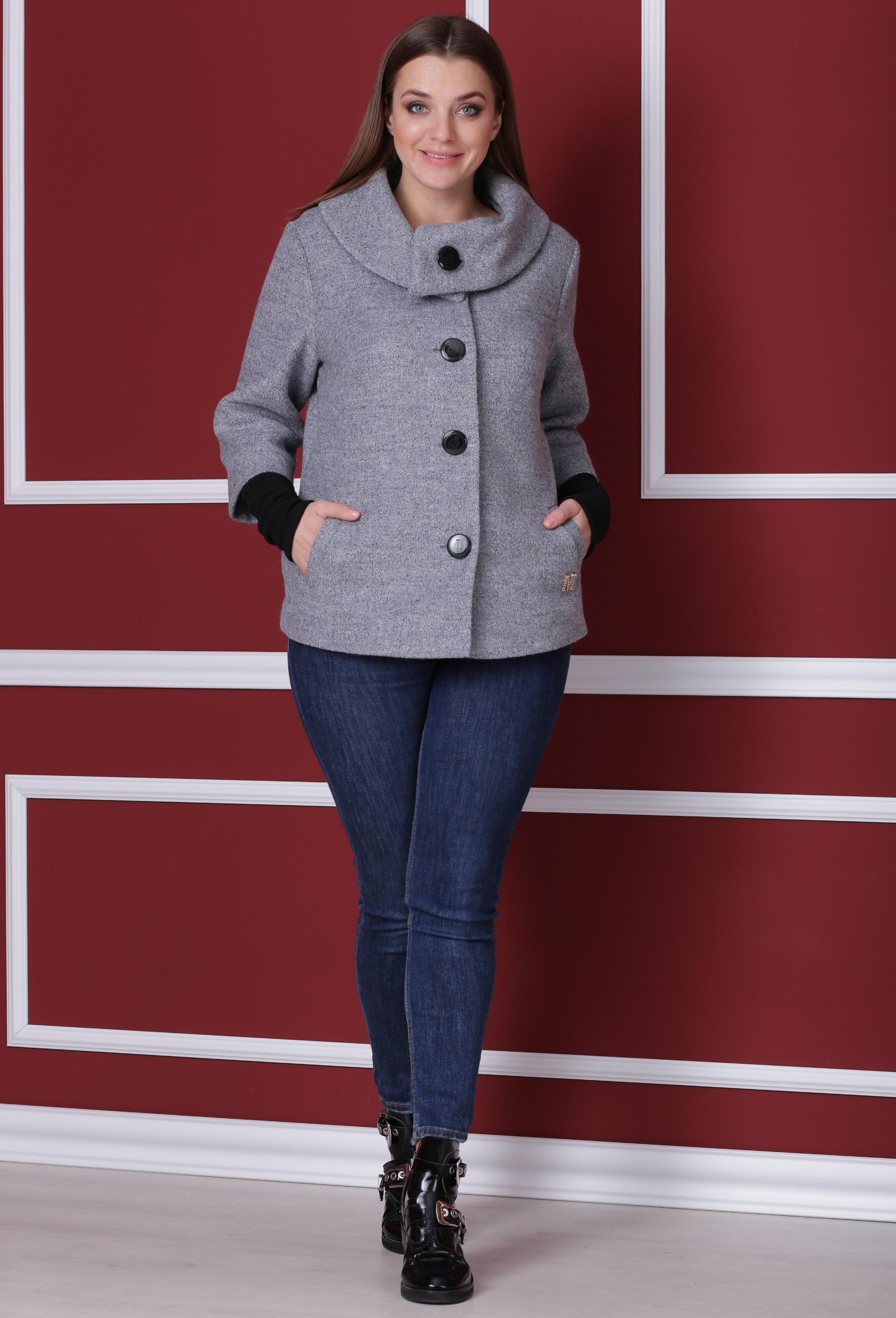 Пальто Michel Chic 348 серый