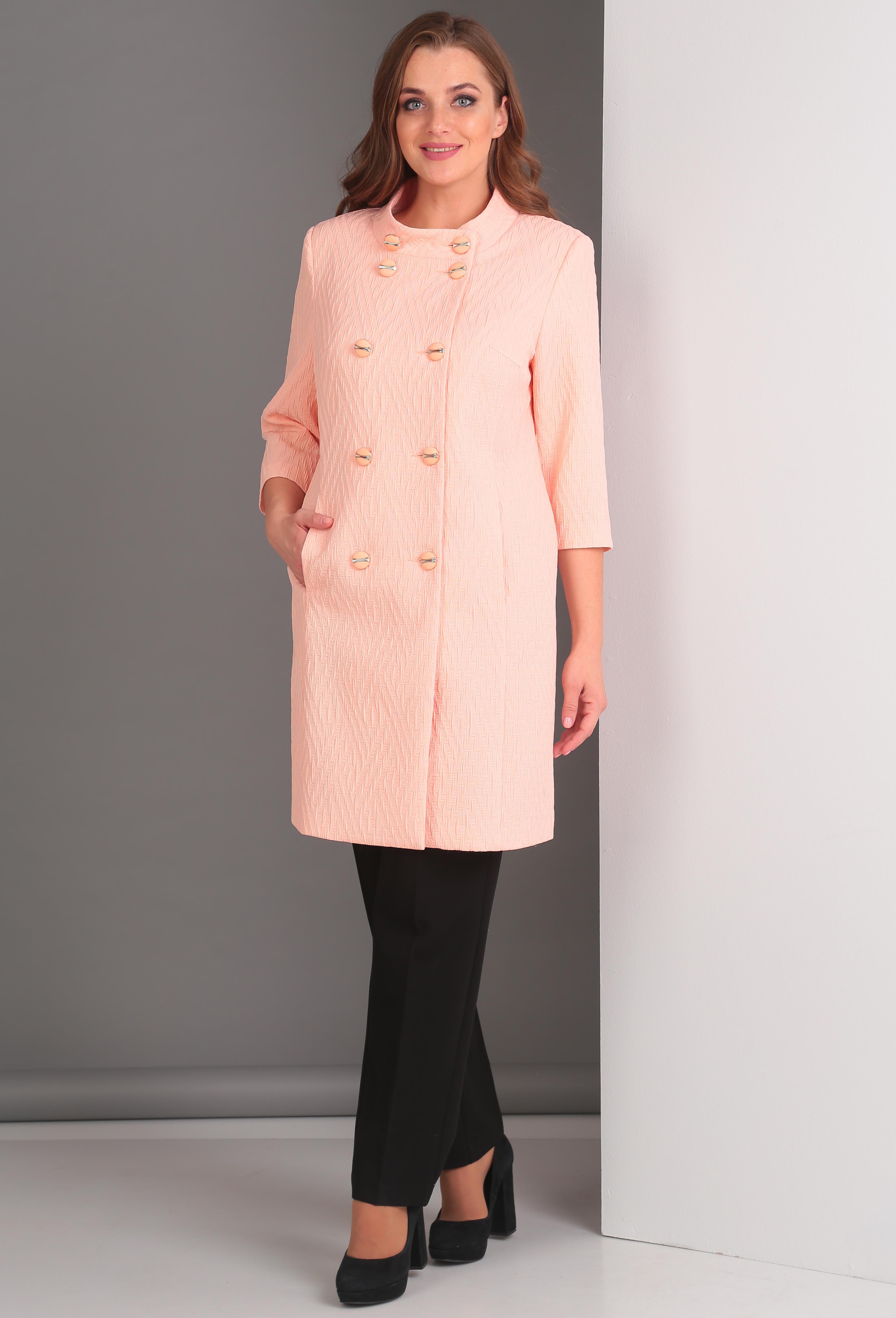 Пальто Anastasia Mak 521 пудра