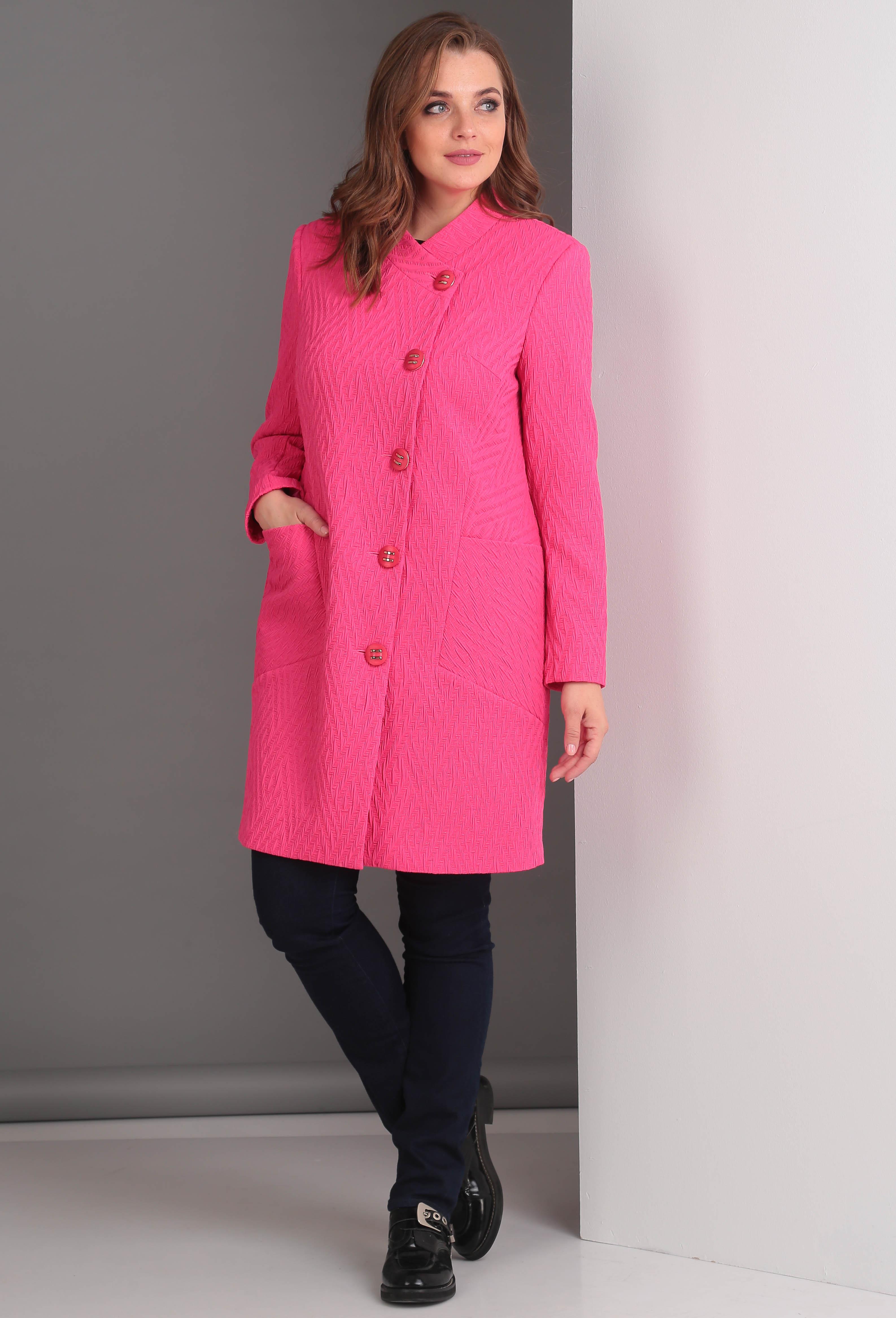 Пальто Anastasia Mak 529 фуксия