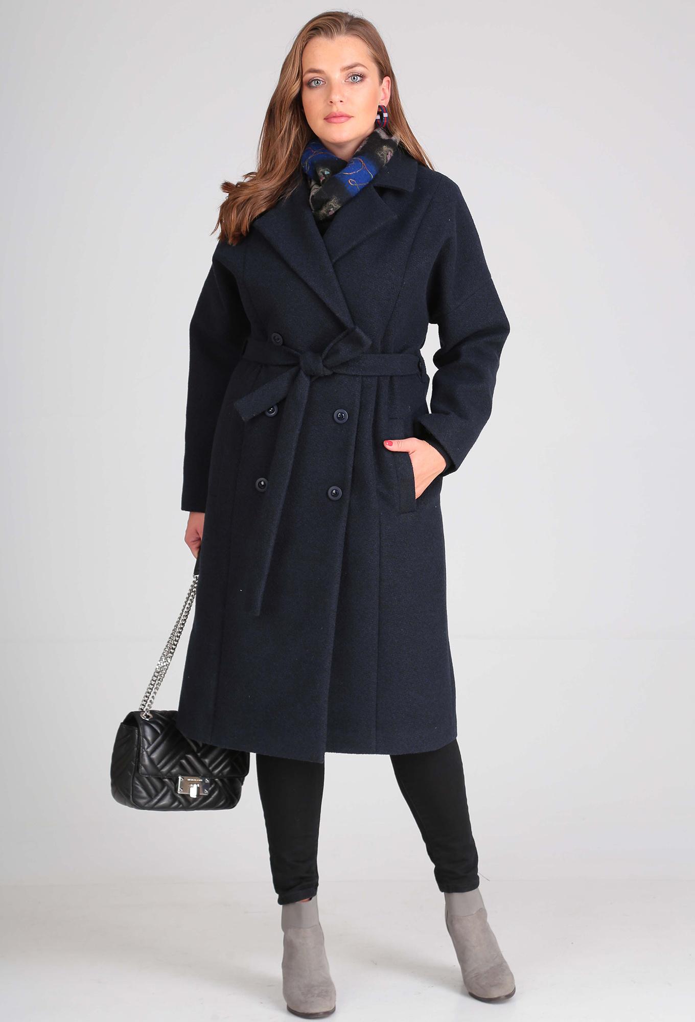 Пальто Anastasia Mak 638 синий