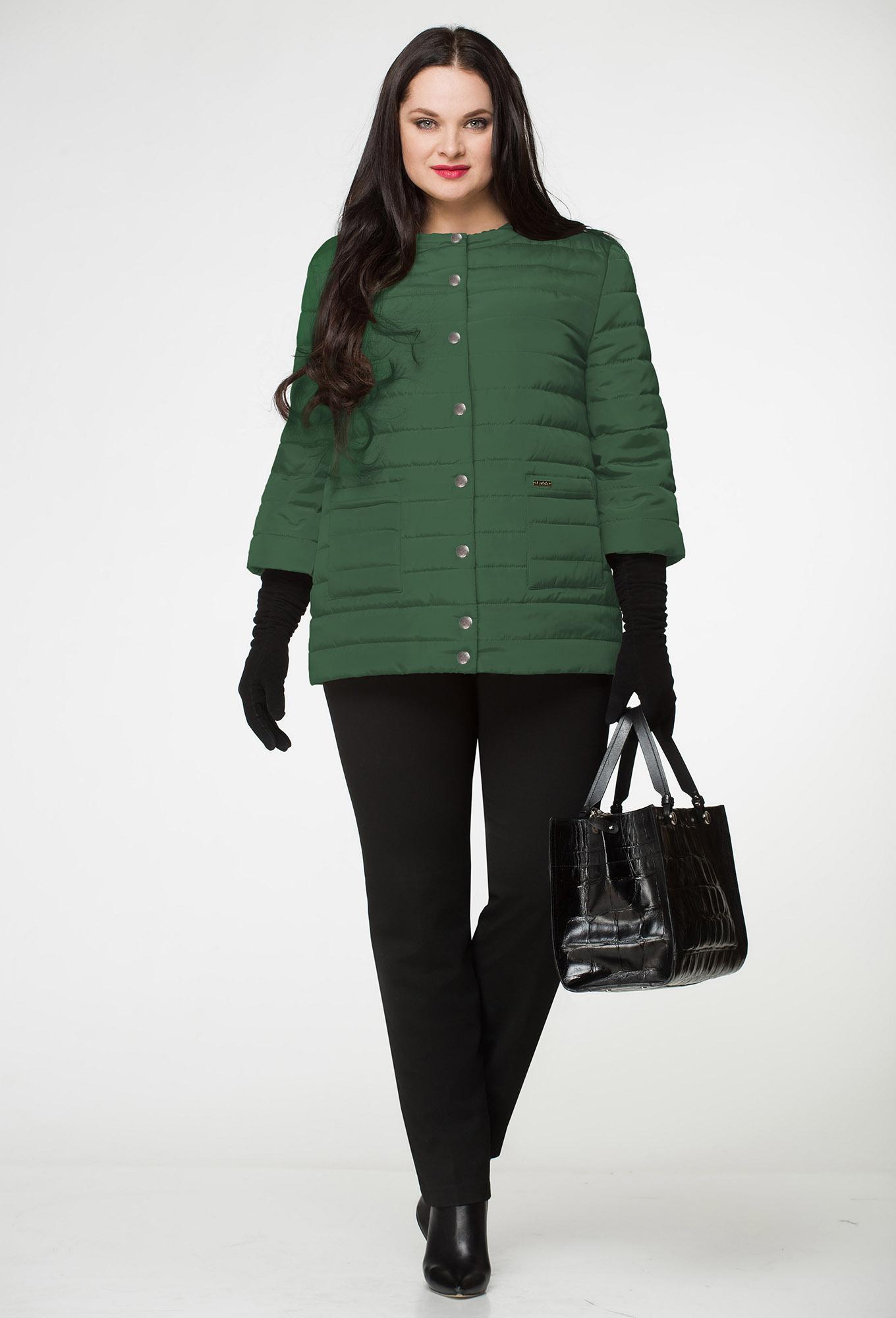 Куртка Lenata 11638 зеленый