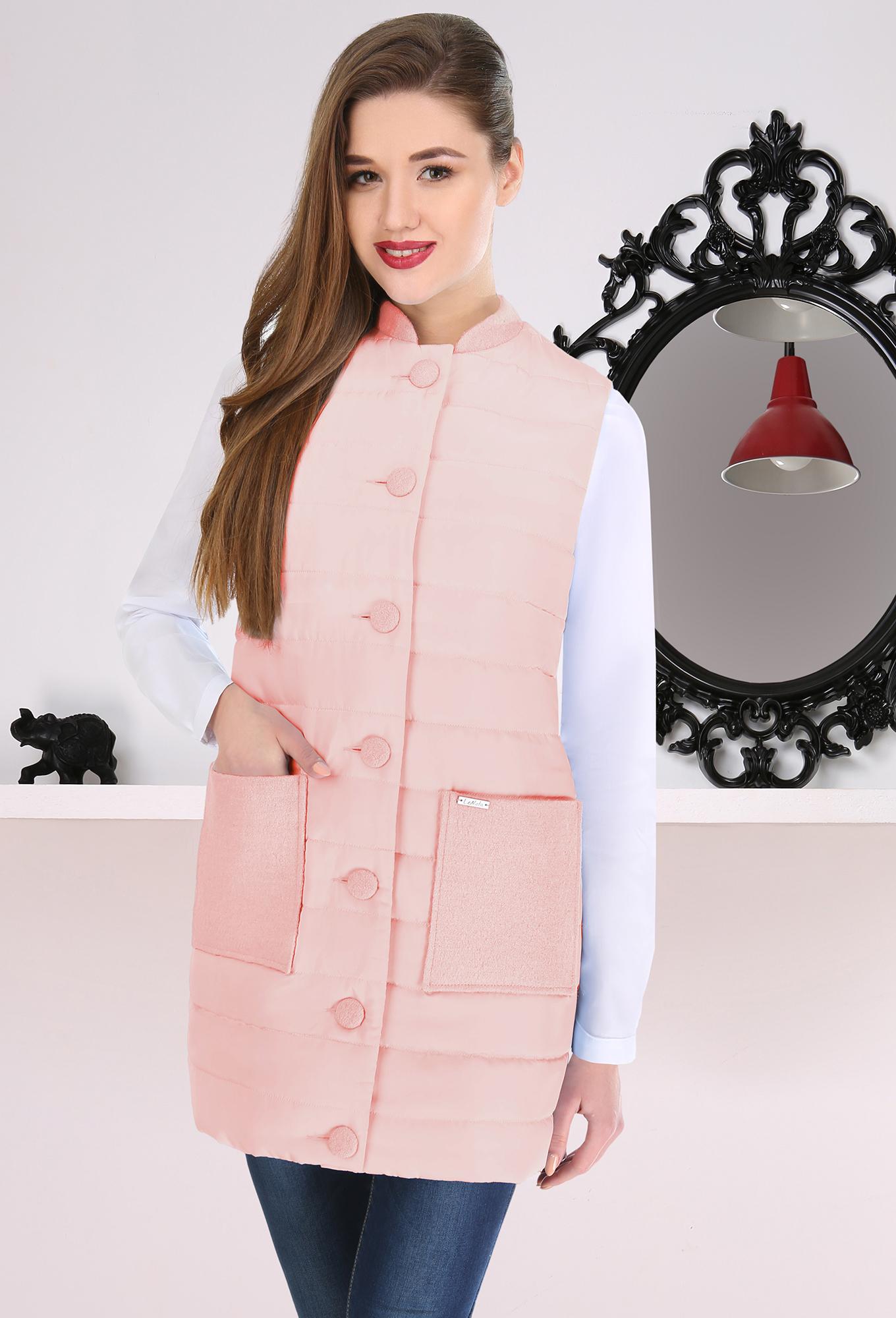 Жилет Lenata 11733 розовый